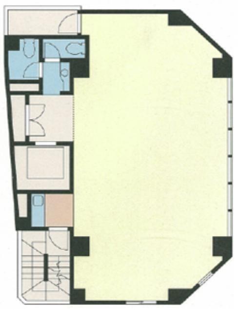 DeLCCS神田 4階の間取り画像