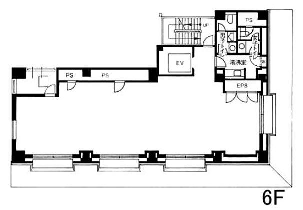 藤和神田錦町ビル 6階の間取り画像