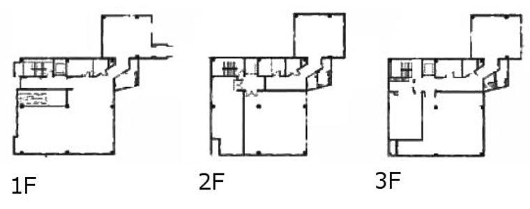 イプソンビル 1階~3階(店舗可)の間取り画像
