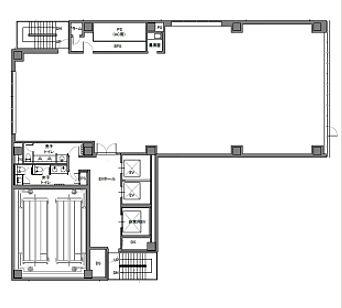 池袋デュープレックスビズ 8階の間取り画像