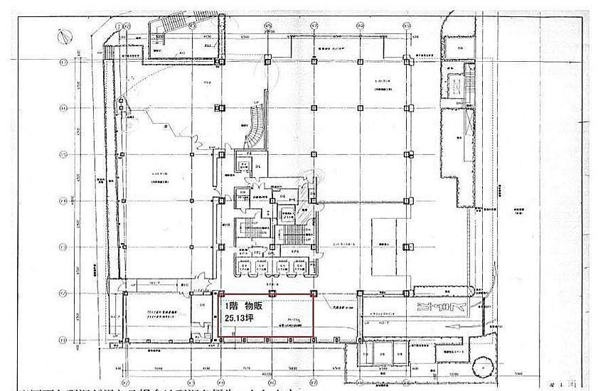 MFPR渋谷ビル 1階 平面図