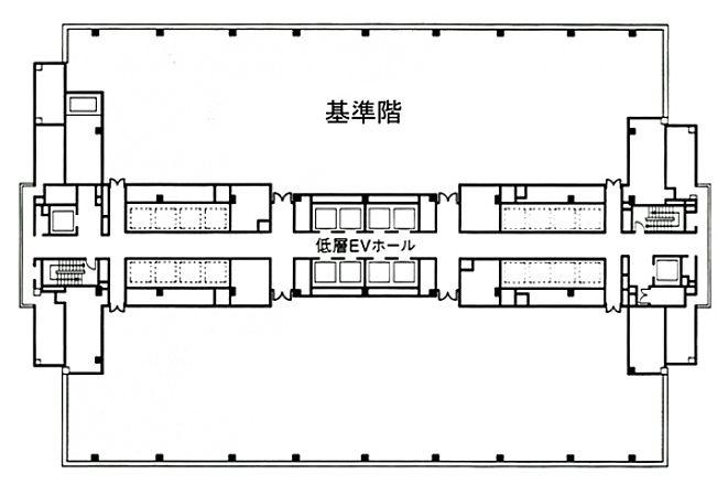 品川インターシティC棟 7階の間取り画像