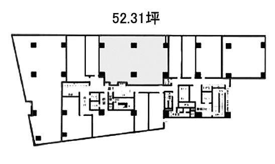 宮益坂ビルディング 2階205の間取り画像