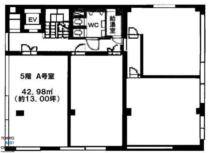 アツミビル 5階A号室の間取り画像