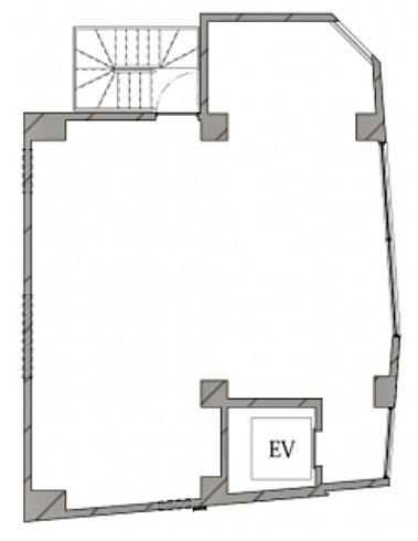 HIBICA神宮前 2階(店舗限定)の間取り画像