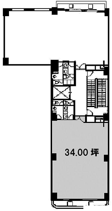 第27SYビル 4階Aの間取り画像