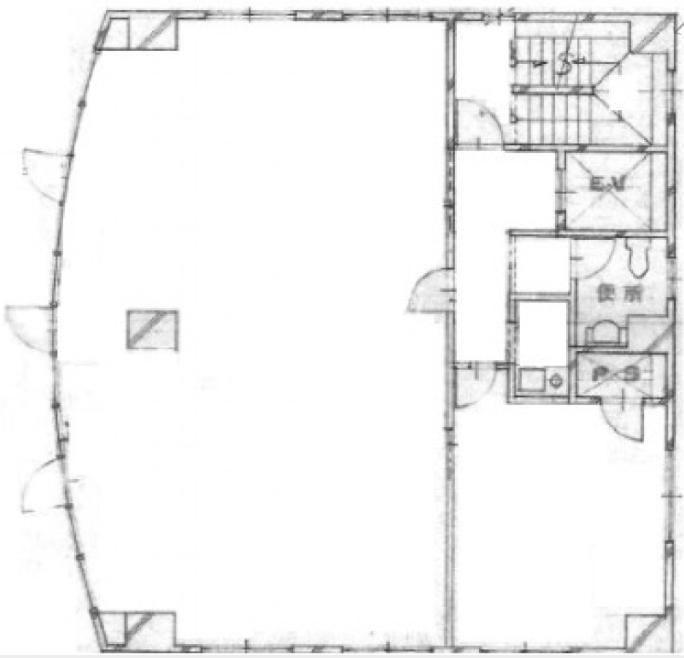 ヒマワリビル 4階の間取り画像