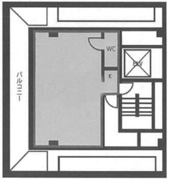 ユニゾ新川一丁目ビル 8階の間取り画像