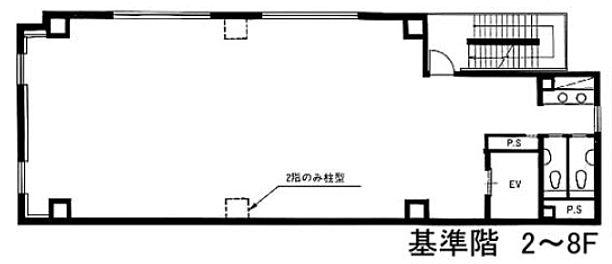 福栄秋葉原ビル 7階の間取り画像