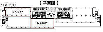 渋谷マークシティ 18階の間取り画像
