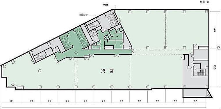 小田急サザンタワー 5階の間取り画像