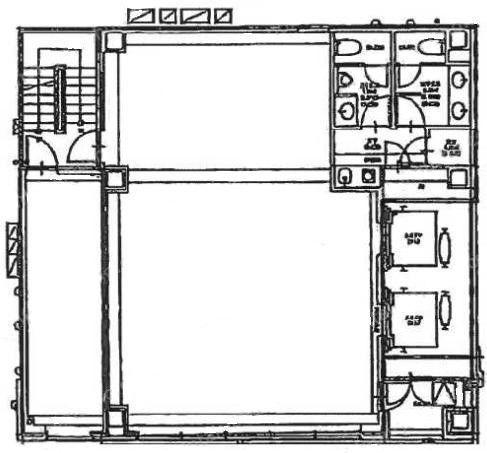 銀座露木ビル 6階の間取り画像