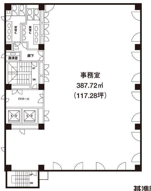 ウィン第二五反田ビル 8階の間取り画像