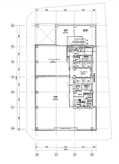 TIXTOWER UENO 3階の間取り画像