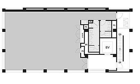 VORT浜松町Ⅲ 10階の間取り画像