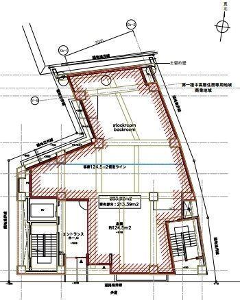 目黒1丁目PJ 地下1階~3階(一棟貸・店舗可)の間取り画像