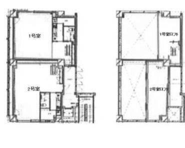 KAZU表参道 2階202(店舗可)の間取り画像
