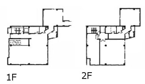 イプソンビル 1階~2階(店舗可)の間取り画像