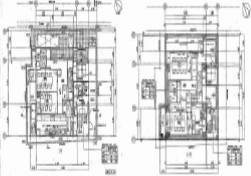赤坂ウェイタワーズ 地下1階~1階 平面図