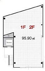 ACN高田馬場ビル(旧:(仮称)高田馬場新築ビル) 2階 平面図