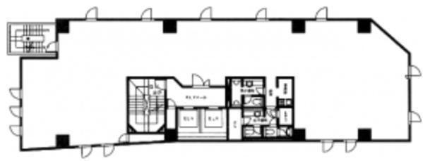 麹町志村ビル 3階の間取り画像