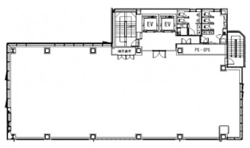 (仮称)神南一丁目計画 2階の間取り画像