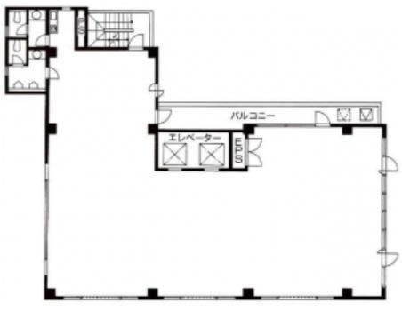 八重洲桜川ビル 6階の間取り画像