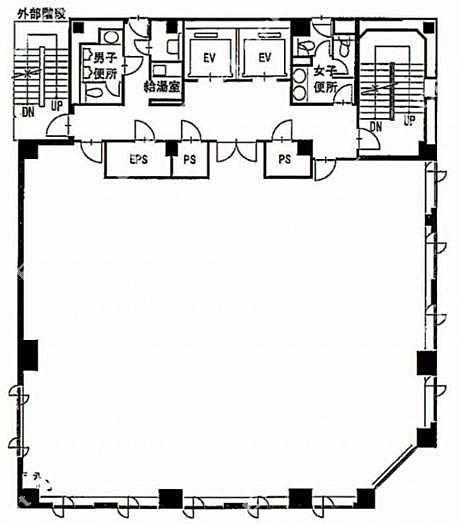 いちご神田錦町ビル 3階の間取り画像