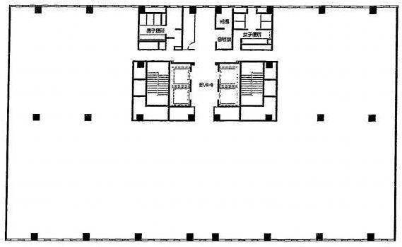 イーストネットビルディング2期 1階(店舗限定)の間取り画像