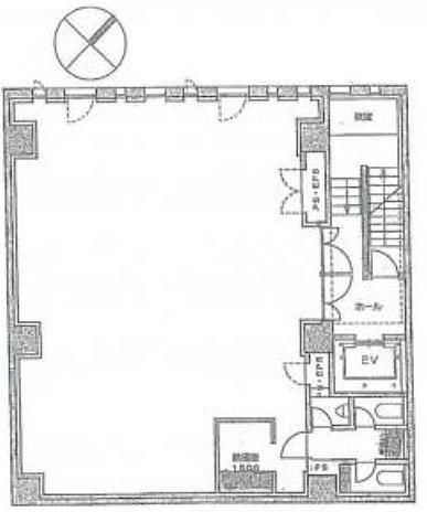 山勝ビル 5階の間取り画像