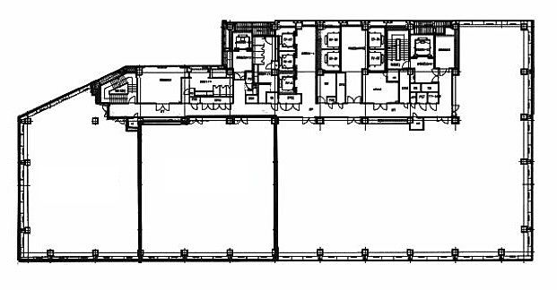 浜離宮三井ビルディング 6階603の間取り画像