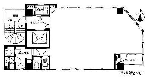 東京リアル岩本町ビル 4階の間取り画像