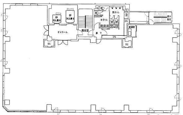 RBM京橋ビル 7階の間取り画像