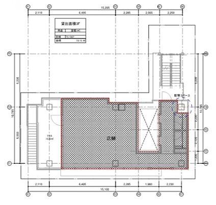 テイテル内神田3丁目ビル(仮称)内神田3丁目PJ 3階(店舗限定)の間取り画像