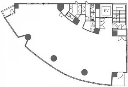 55-1麻布台 2階の間取り画像