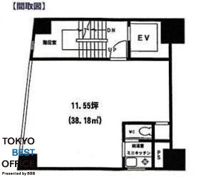 パールビル(神田須田町) 6階の間取り画像