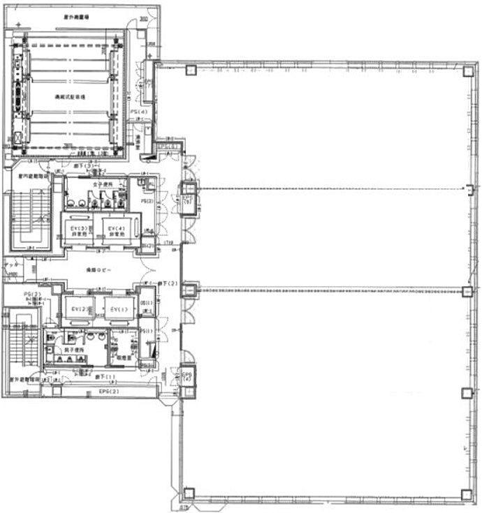 藤久ビル東5号館 3階1+2の間取り画像