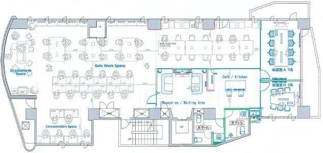 池袋サザンプレイス(旧:光3号ビル) 6階の間取り画像