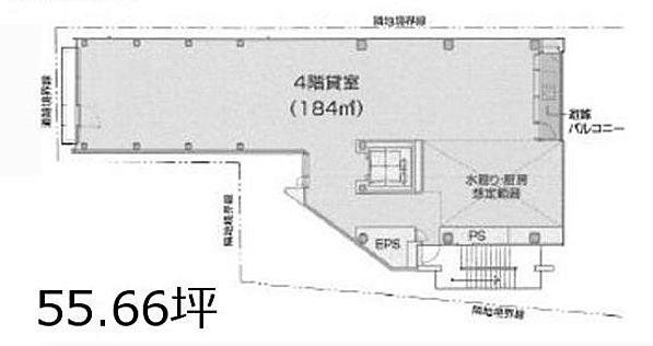 原宿神宮の森 4階(店舗限定)の間取り画像