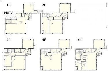 イプソンビル 1階~5階(一棟貸・店舗可)の間取り画像