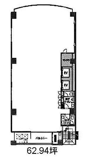 FDC麹町ビル 3階の間取り画像