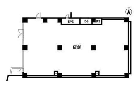 富士見坂プレイス 1階(店舗可)の間取り画像