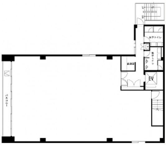 フォレスト秋葉原ビル 3階の間取り画像