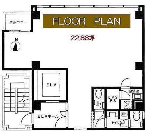 ACN神田錦町ビル 6階の間取り画像