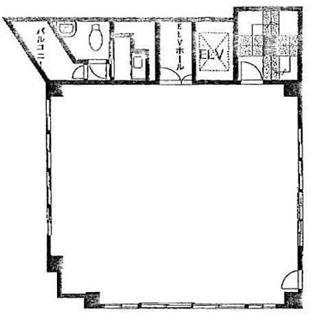 ヘミニスⅡビル 4階の間取り画像