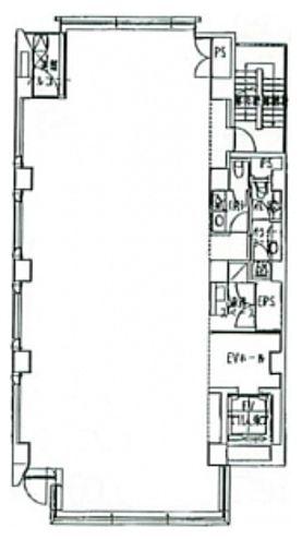一番町ビルディング(一番町ビルヂング) 6階の間取り画像