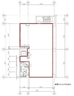 赤坂フェニックスビル 2階の間取り画像
