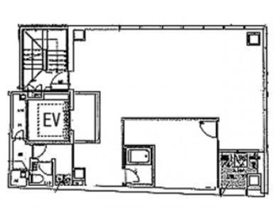 ATS大手町ビル 4階の間取り画像