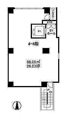 Fine Crest M'S 4階(店舗限定)の間取り画像