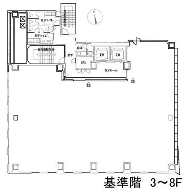 秋葉原ビルディング 4階の間取り画像
